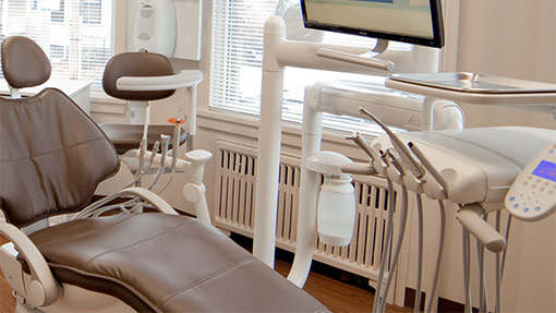 First Impression Dental exam room and equipment