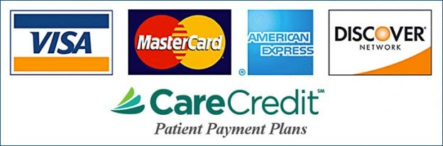 accepting dental insurance and all major credit cards